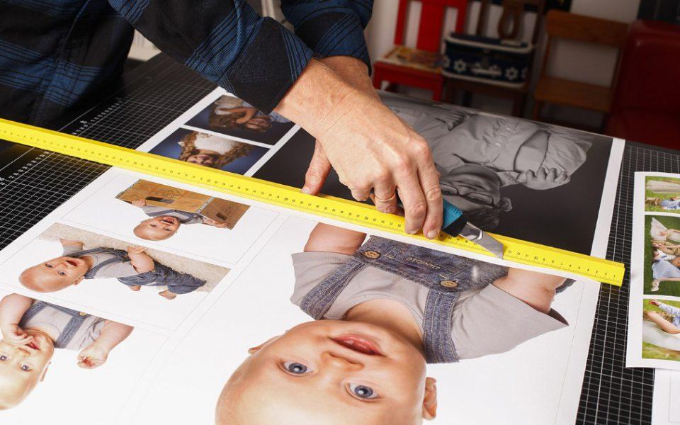 Fotograferna med fokus på nöjda kunder och bättre affärer