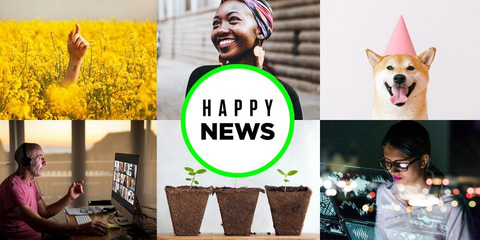 Låt dig inspireras av Happy News!